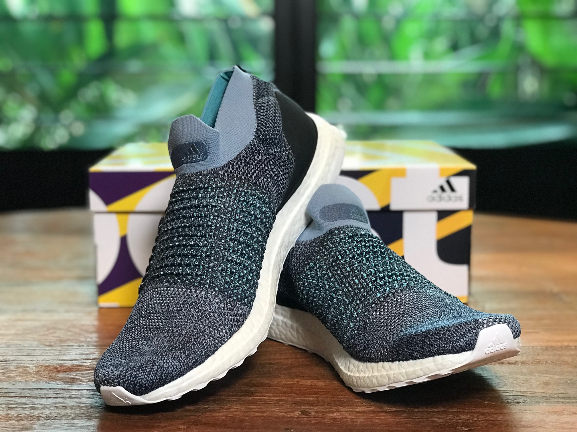 78c2109e8502e Adidas Parley running the show in 2019! Adidas Ultraboost Laceless Parley