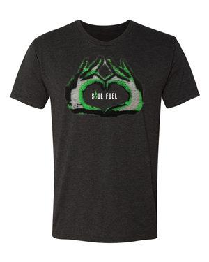 Soul Fuel Short Sleeve Crew Black Neon Green