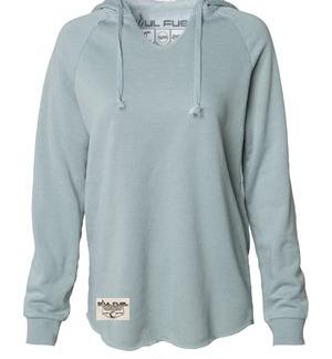 Wave Washed Hooded Sweatshirt